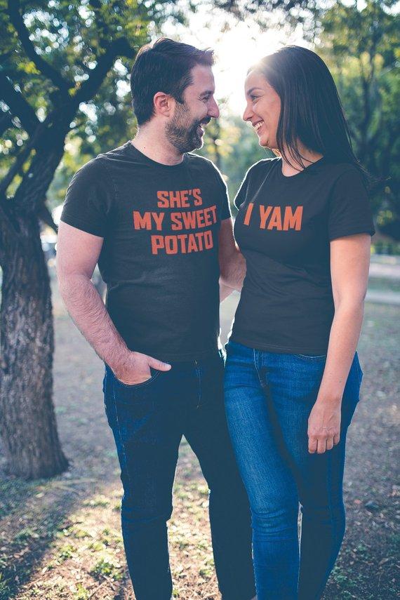 She's My Sweet Potato Shirt | MEN's T-shirt | Relationship