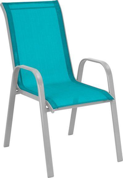 Trendiger Stapelstuhl In Blau Ein Hit Fur Den Sommer Gartenstuhle Blau Und Weiss Stapelstuhle