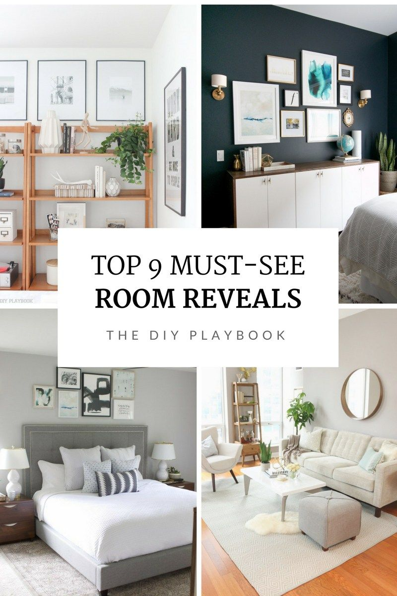 our favorite before and after room reveals on the diy crafts rh pinterest com