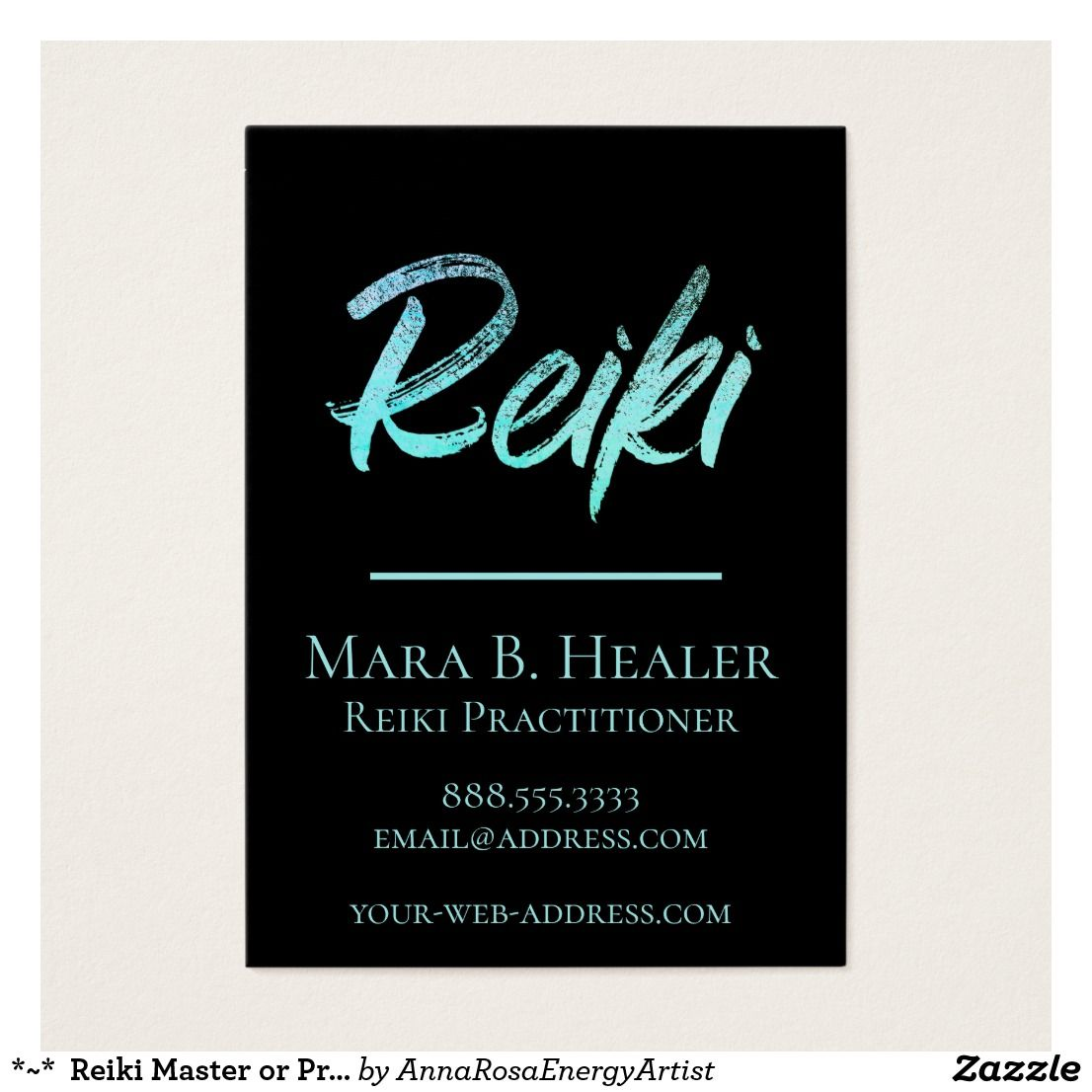 Reiki Master Or Practitioner Energy Healer Business Card Lightworker Reikimaster Annarosa Energyhealer Reiki Master Reiki Business Energy Healer