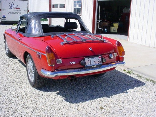 for sale 1966 mgb with a ford v8 engine swaps engine swap ford rh pinterest com