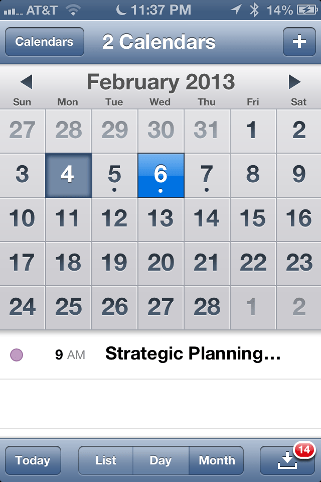 How to iPhone, iPad (Mini), and iPod Touch Calendar app