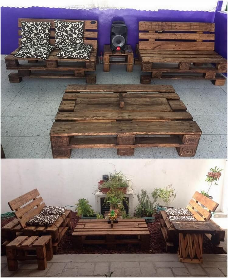 Must Try These Wooden Pallet Ideas That Will Blow Your Mind Meubles En Bois De Palettes Mobilier Palette Palette Bois