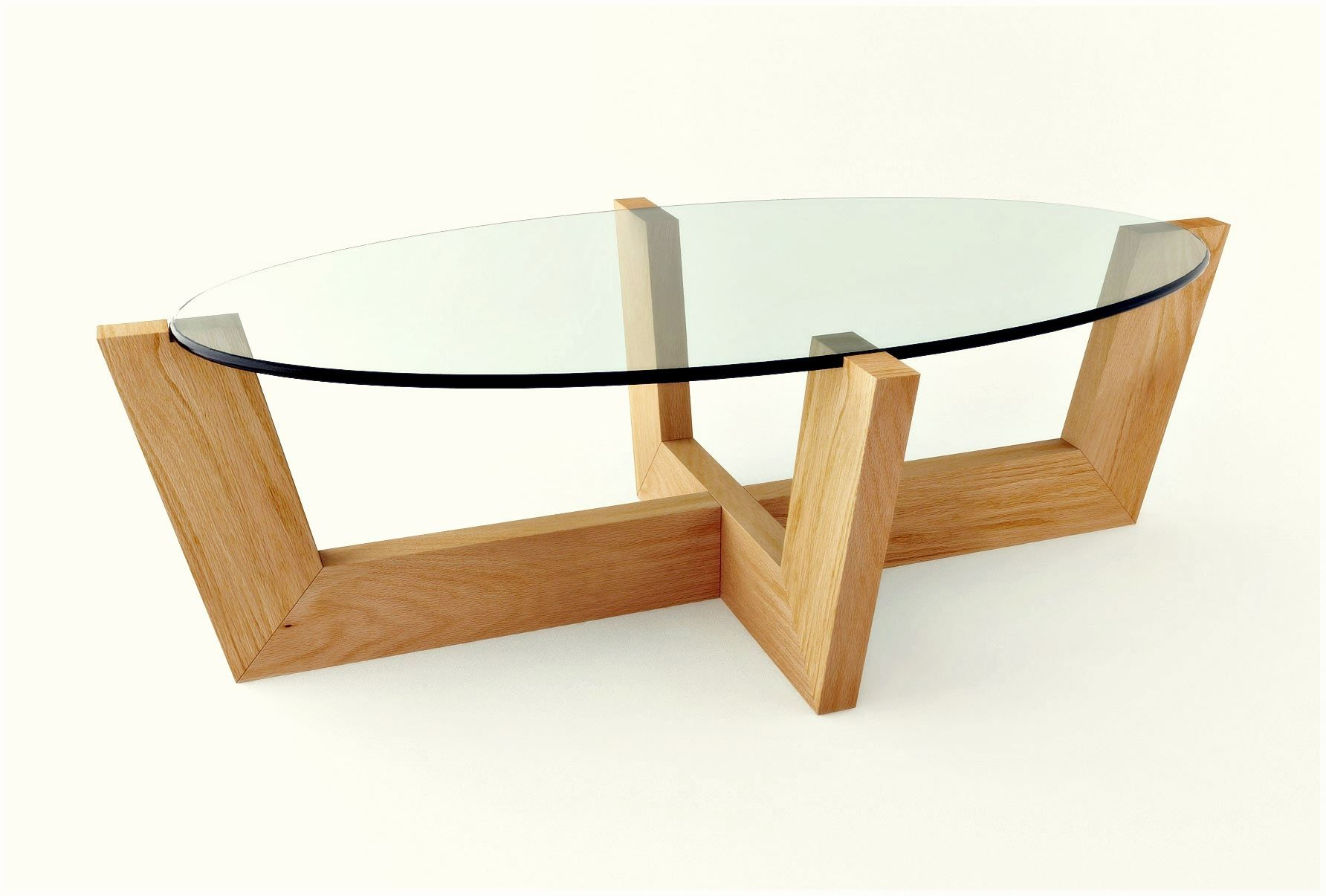 Glass coffee table in living room interior living room simple and stylish clear glass oval top coffee