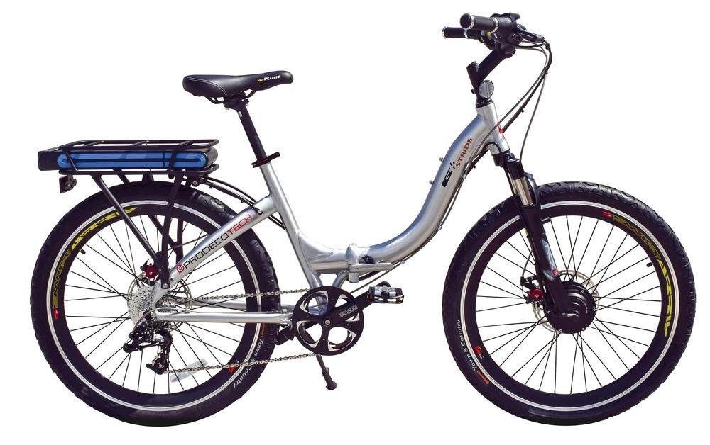 Prodecotech Stride 300 Electric Bike Brushed Aluminum New