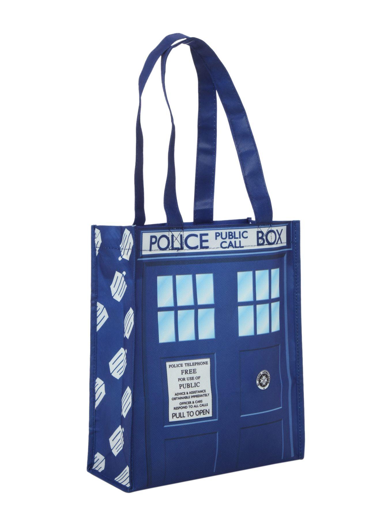 Small Dr Tardis Bag, Who Tote