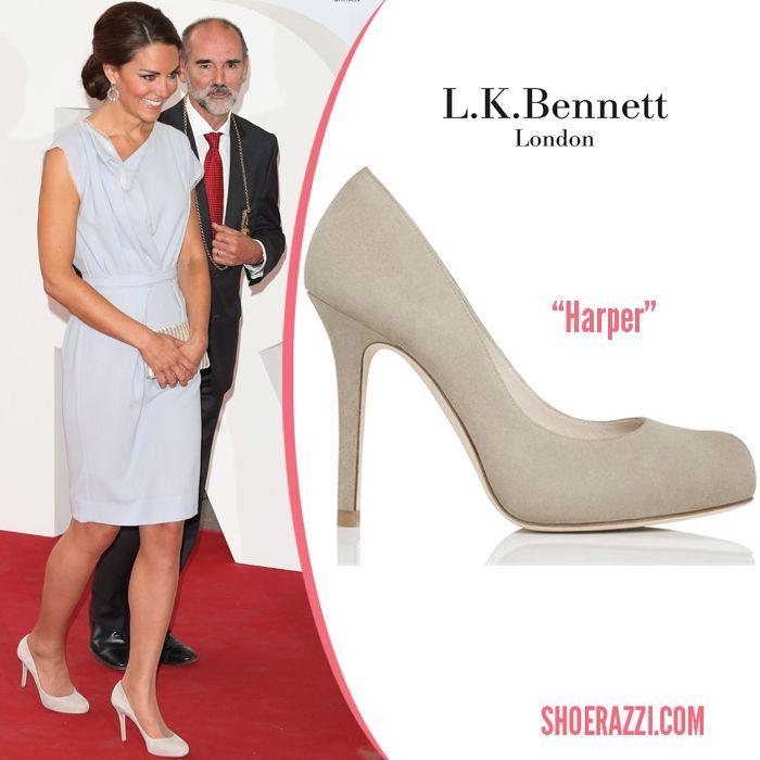 fde0be52e2f Duchess of Cambridge LK Bennett Harper Shoes