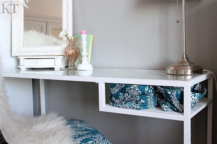 Kotona tehtyjä ikea hack vittsjö painted white home