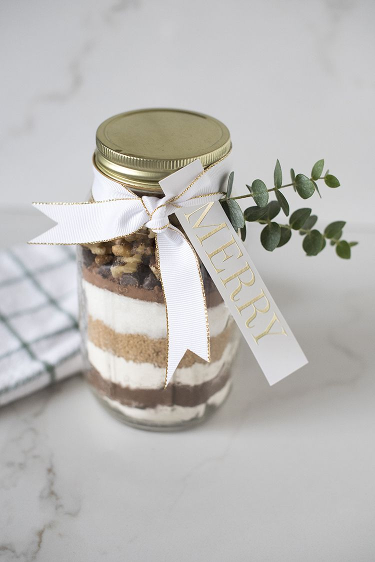 Double Chocolate Brownie Jar