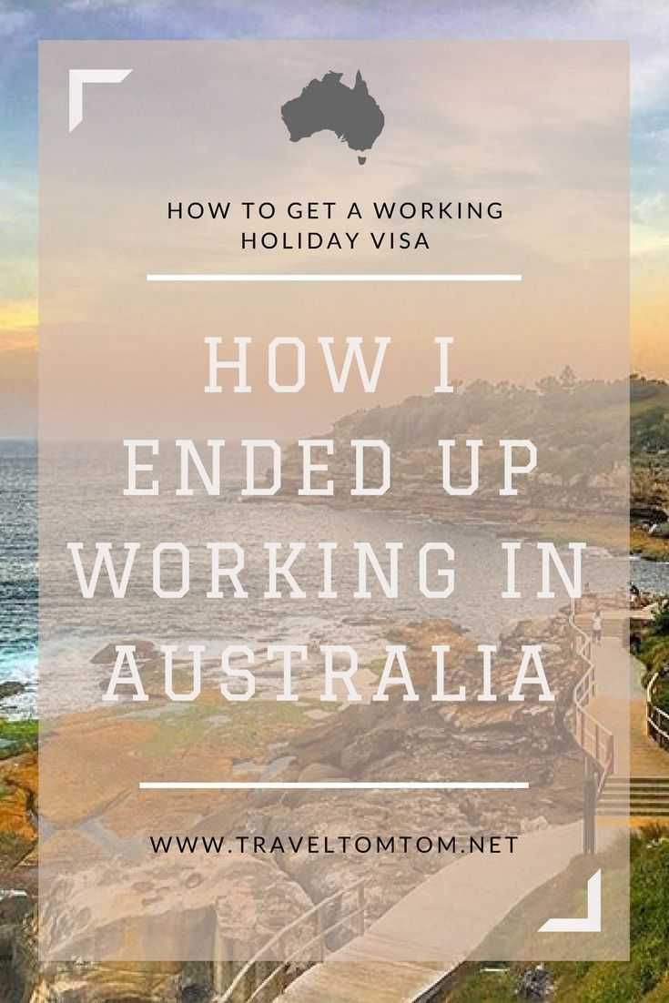 How to get a working holiday visa
