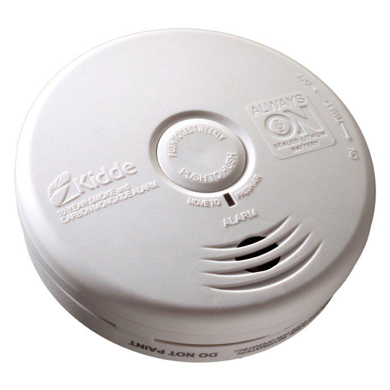 Kidde 10 Year Kitchen Smoke Carbon Monoxide Detector 1092 0718