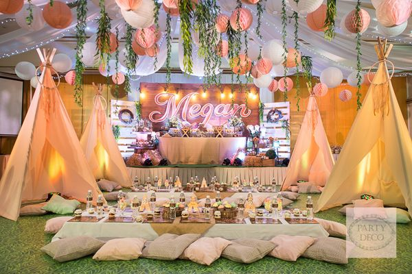 Bohemian Bonanza Https Babyandbreakfast Ph 2016 08 01 Bohemian Bonanza Coachella Theme Party Coachella Party Glamping Party