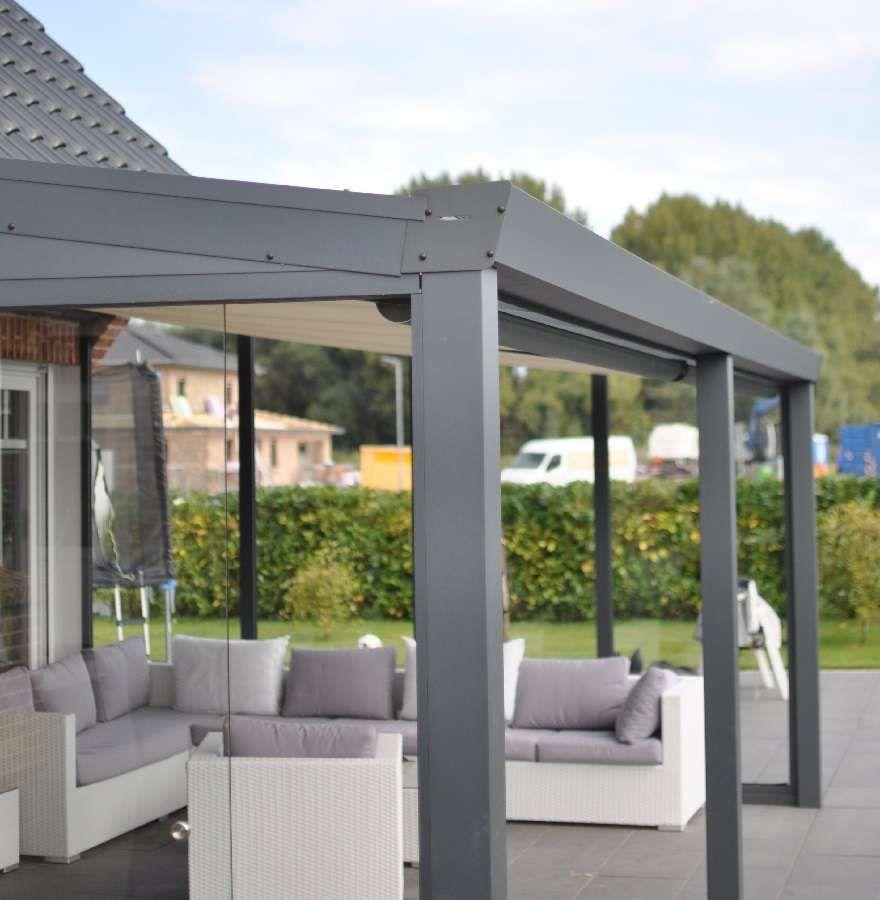 Aluminium Terrassenüberdachung Poly Überdachung terrasse