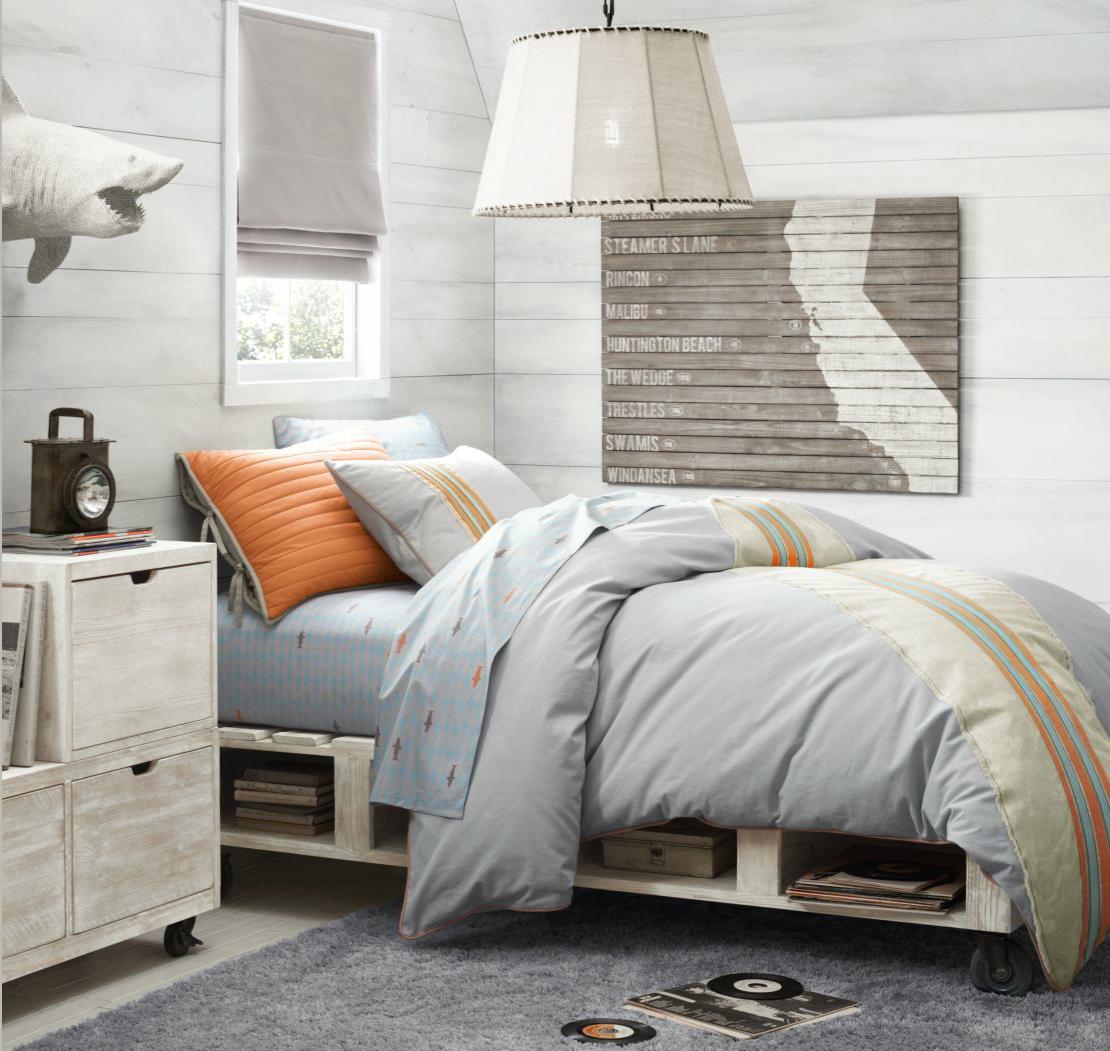 Boy Rooms Beautiful Bright Gray Bedrooms Design