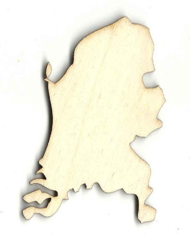 Netherlands Driving Map%0A Netherlands  Laser Cut Wood Shape WLD
