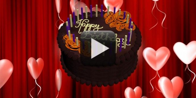 Happy Birthday Animation Video Free Download 3D