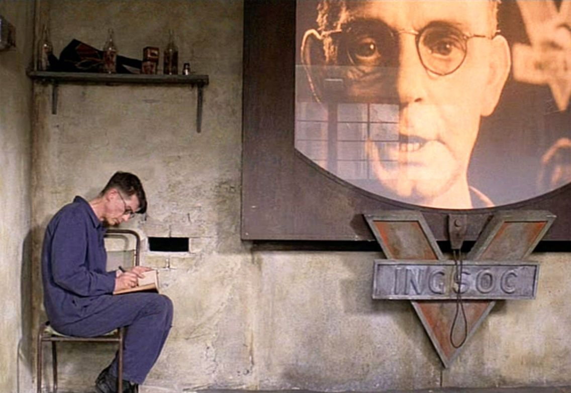 The rebellious character of winston and julia in 1984 by george orwell