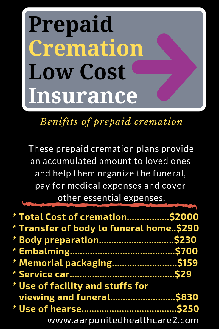 Prepaidremation Low Cost Insurance It Is Likely That A Simple