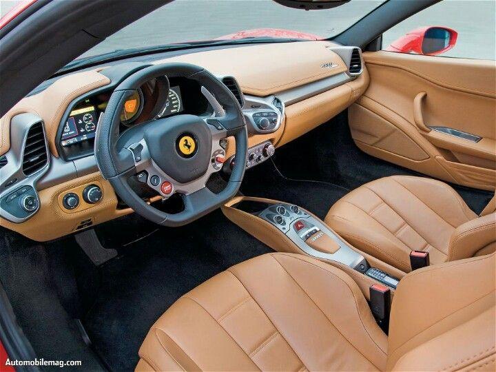 Ferrari 458 Italia Inside Cockpit Ferrari Italia 458 Pinterest