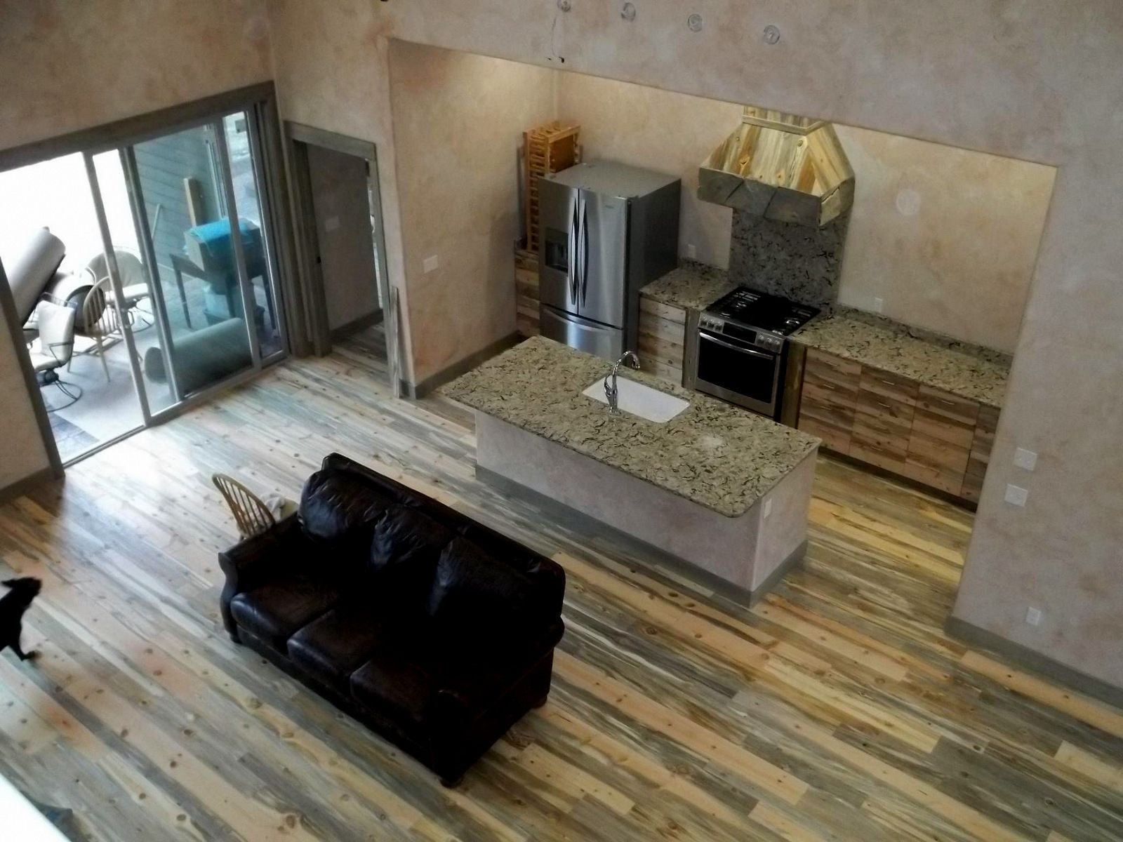 Nice Picture Of Our Beetle Kill Pine Flooring Sent In From A Local Montana Customer Not A Floor For Everyon With Images Beetle Kill Pine Reclaimed Wood Floors Pine Floors