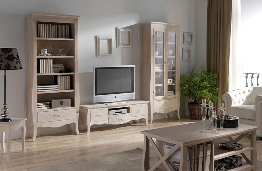 Muebles salon blanco: mueble de salón aral leds vetro en color ...