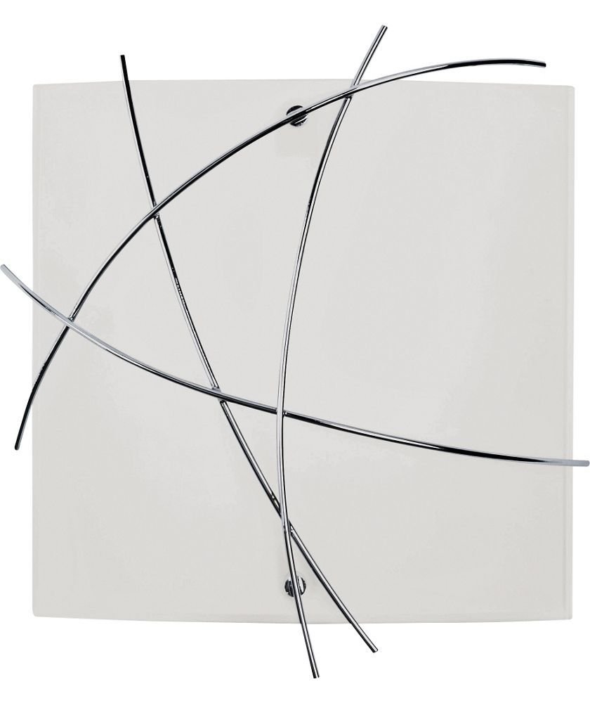 Buy Kriss Kross Wall Light Chrome At Argoscouk Your Online Wiring Diagram Uk
