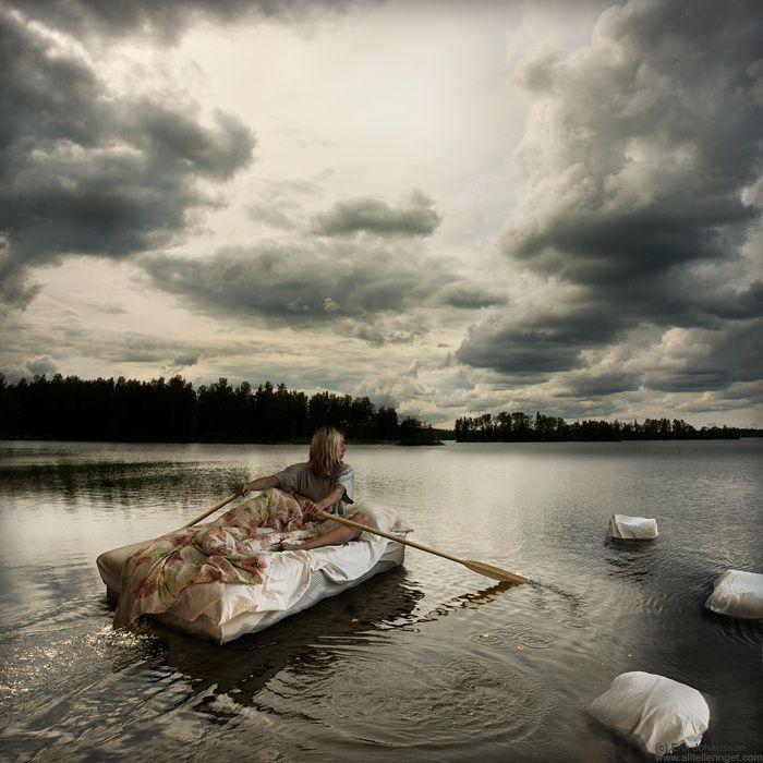 Mon lit est un bateau Erik Johansson and his amazing art (30 pics)