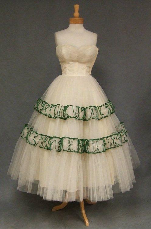 Will Steinman 1950's Prom Dress