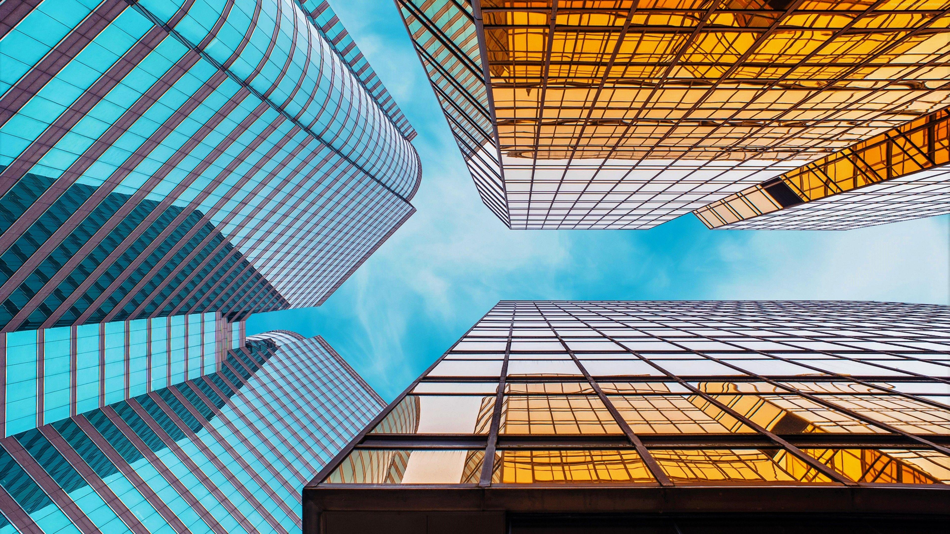 Wallpaper Skycrapper Cityscape 5k Architecture Http Www Pxwall Com Wallpaper Skycrapper Cityscape 5k A 18th Glass 4k Background Architecture Wallpaper