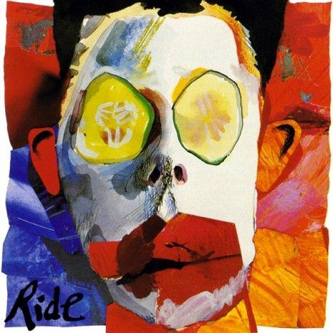 Ride Going Blank Again Album Cover Art Album Art Indie Rock