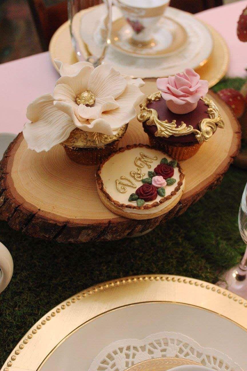 unique bridal shower appetizers%0A Enchanted garden bridal shower desserts