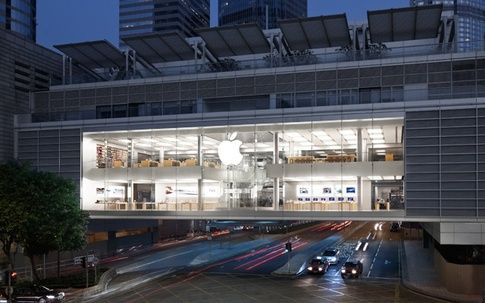 Apple Store Ifc Mall Hong Kong Apple Store Store Architecture Apple Retail Store