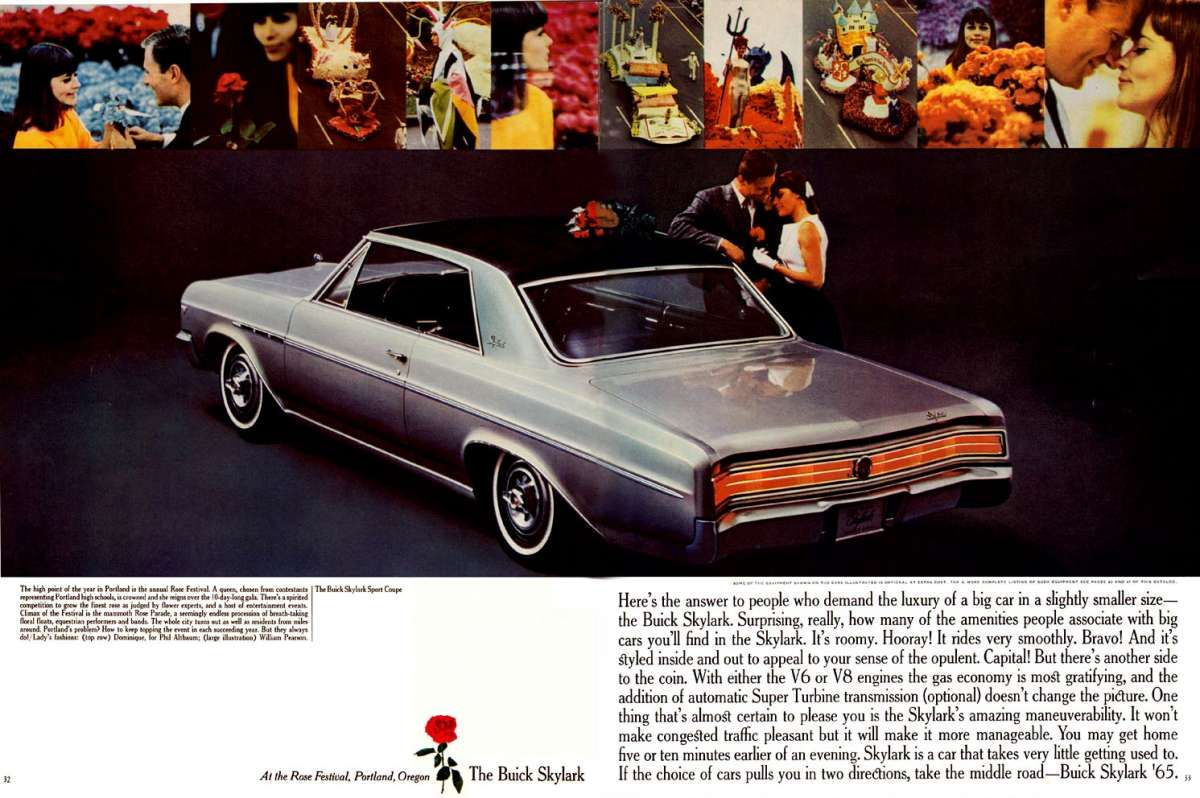 1965 Buick Skylark Automotive History Mid Size Madness What Would You Have Chosen In Buick Skylark Buick Sports Coupe