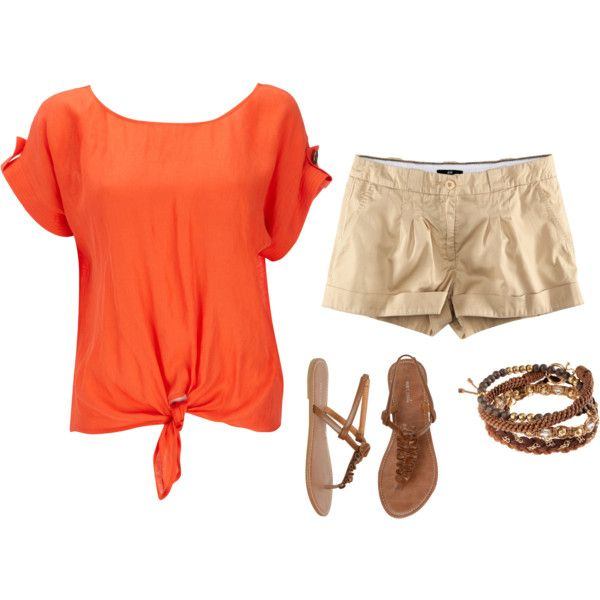 my style. simple and orange:)