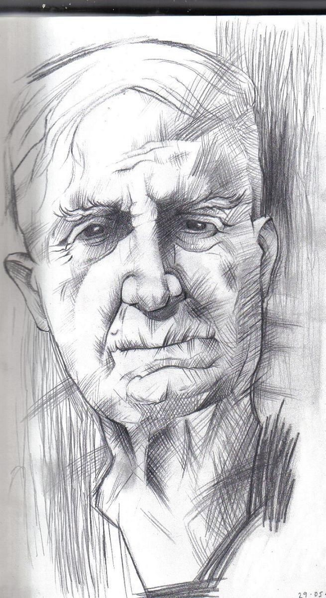 Pencil drawings of old people pencil drawings