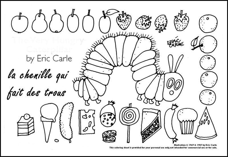 La Chenille Qui Fait Des Trous D Eric Carle Section 4 1 2 3