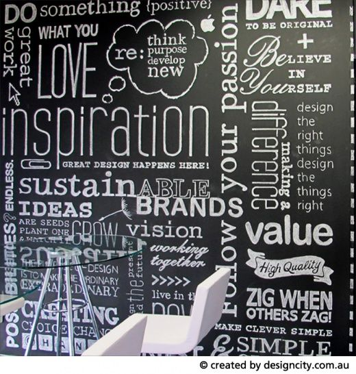 inspiration wall google image result for httpdesigncitycomau - Wall Graphic Designs