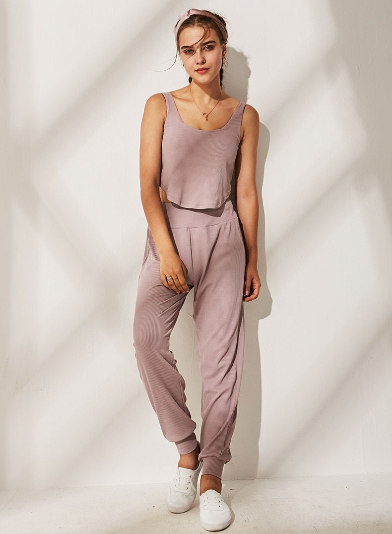 Breathable Elastic Gothic Harem Sweatpants -   18 fitness Clothes loose ideas