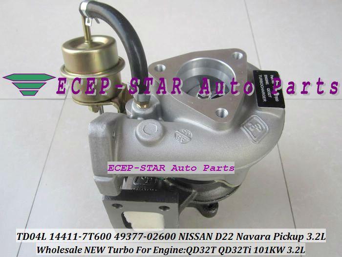 Free Ship TD04L 14411-7T600 49377-02600 Turbo Turbocharger