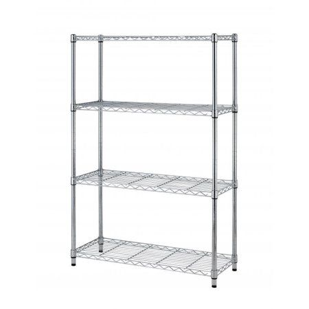 36 x14 x54 4 tier layer shelf adjustable steel wire metal shelving rh pinterest ch