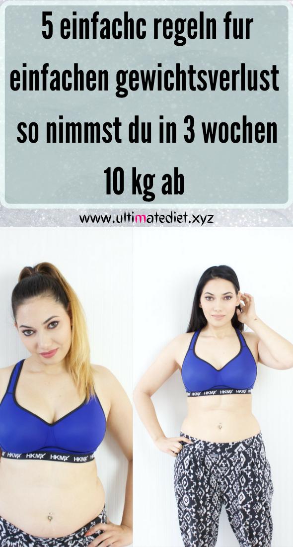 Gewichtsverlust zu schnelle Folgen