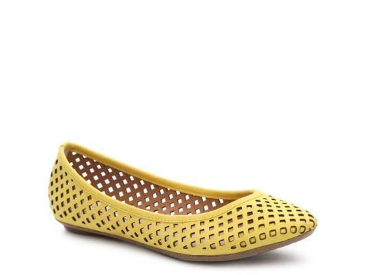 Women's Steve Madden Helaine Ballet Flat - Yellow · Office StyleBallet  FlatsShoe ...