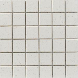 speckle white 12 in x 12 in unglazed porcelain mosaic floor wall rh pinterest com