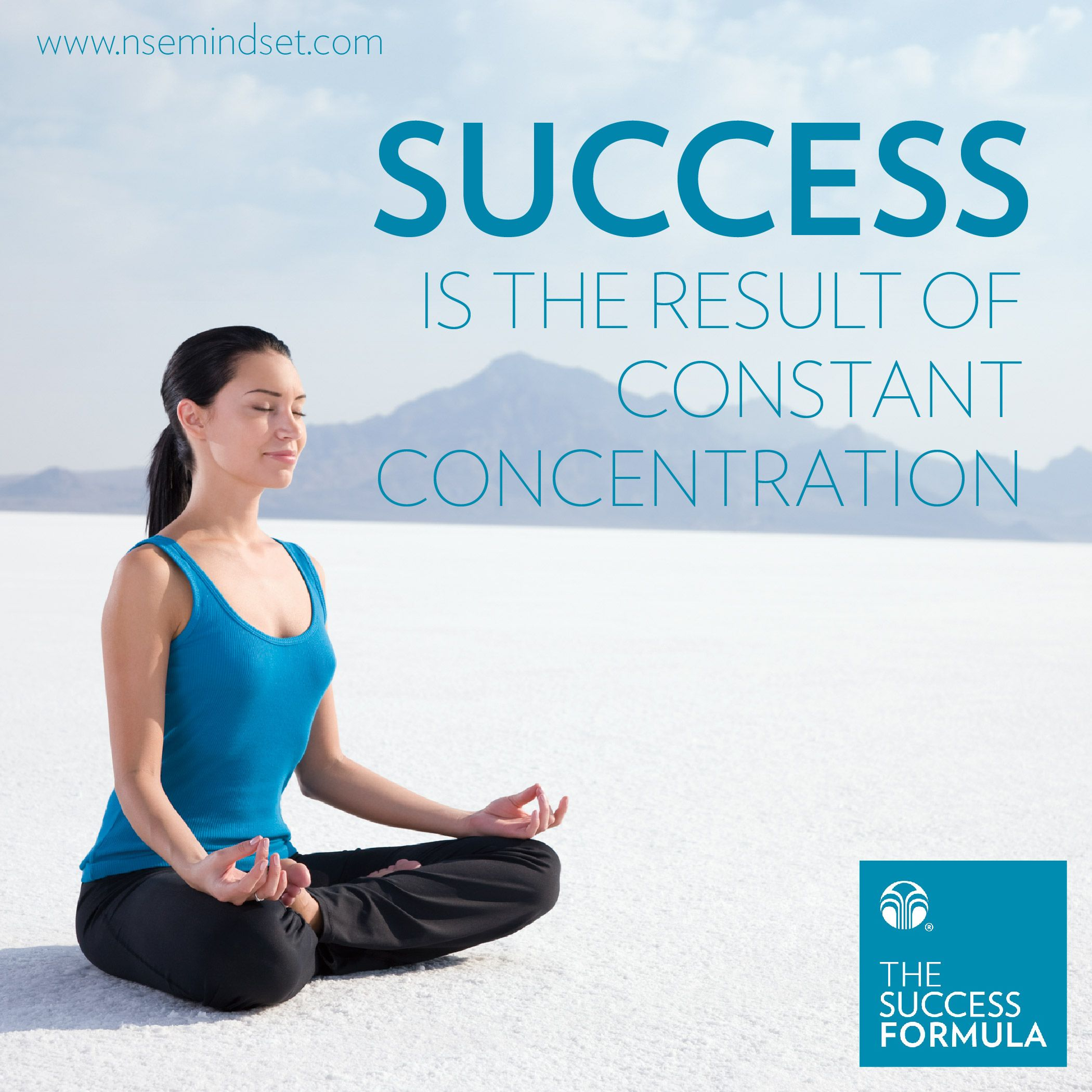Success is the result of constant concentration. #SuccessFormula #NuSkin