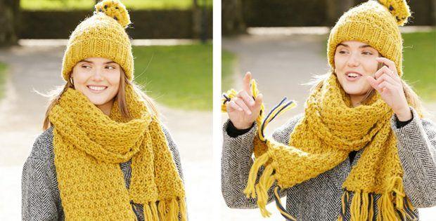 Hello Autumn Knitted Warmers [FREE Knitting Pattern] #helloautumn