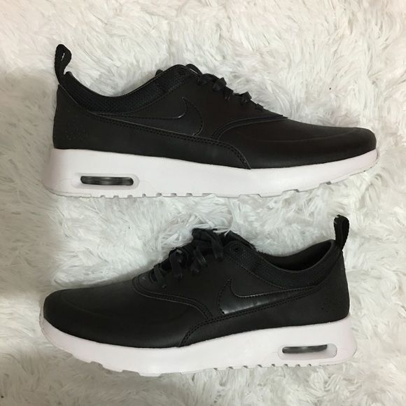 best website 95b86 685af Women s Nike Air Max Thea Brand new with box but no lid. Color is black  Nike Shoes Athletic Shoes