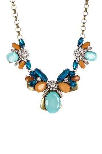 Luxe Blue Lagoon Necklace on HauteLook