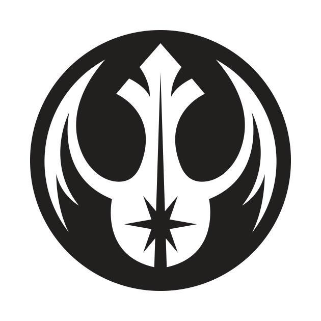 Czy Moze To Byc Nasz Symbol Polaczenie Symboli Porzadku Jedi I Rebeliantow Enemyoftherepublic Star Wars Symbols Star Wars Logos Symbols Star Wars Tattoo