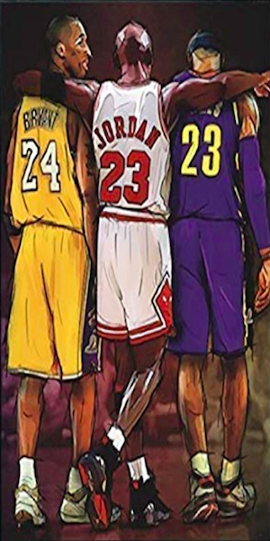 Nba Wallpapers Nba Legends Lebron James Michael Jordan Kobe