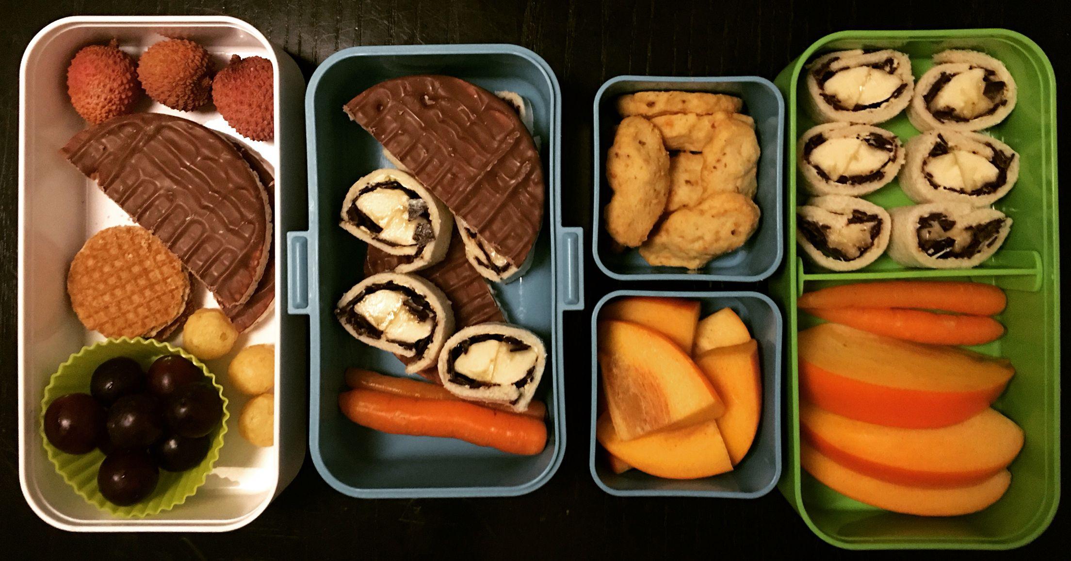 #lunchbox #deluxe #bento #monbento #breakfastsushi #yummy #delicious #lunch #snack #kids